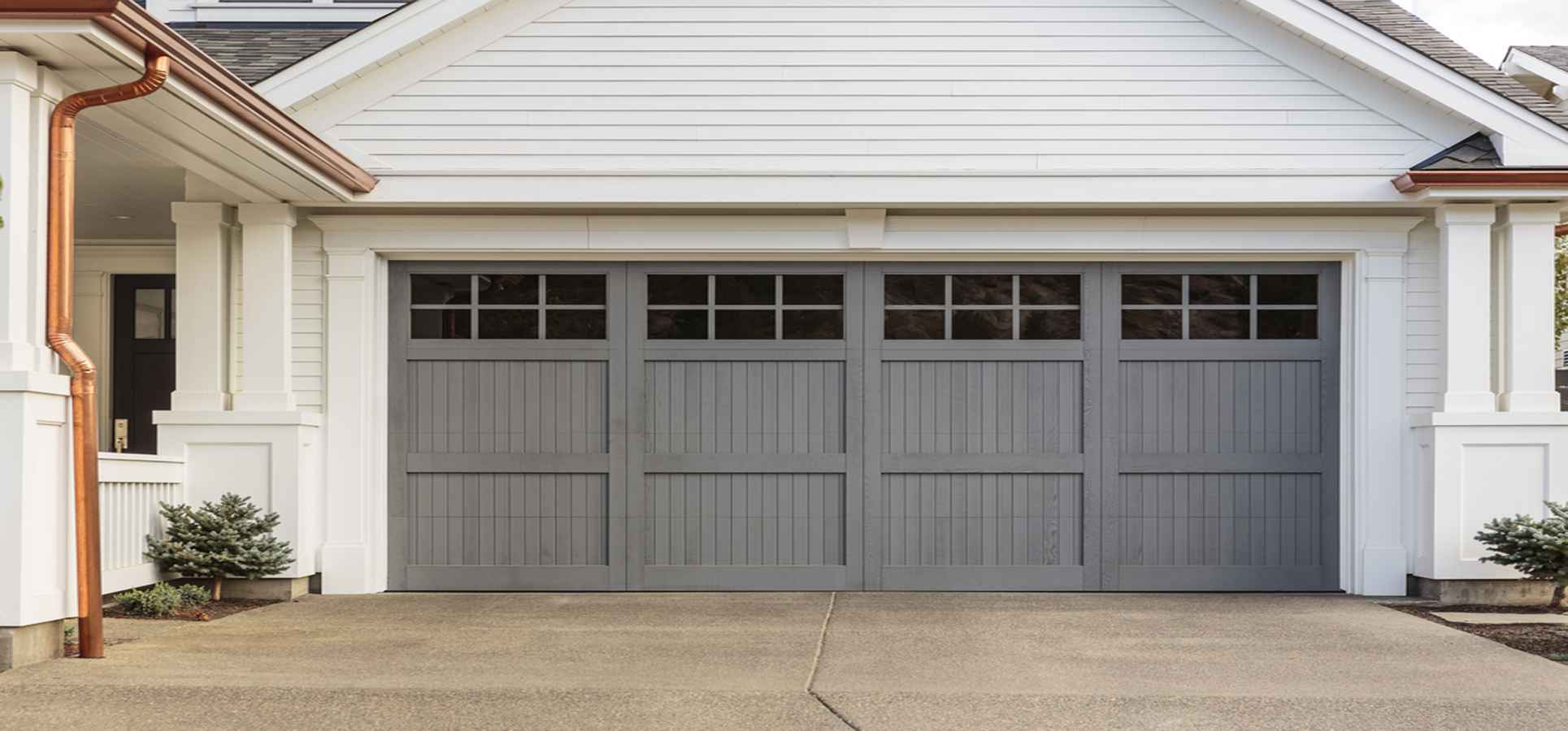 Grey Garage Doors-Garage Door Repair