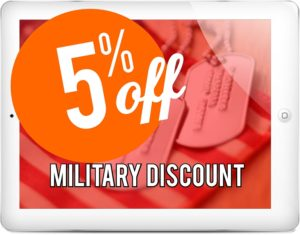military discount-Garage Door Repair