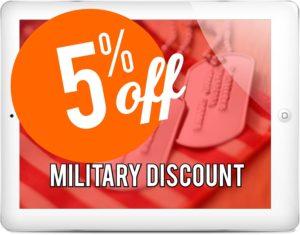 military discount-Garage Door Repair